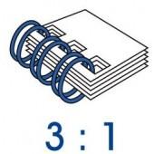 雙 線 鐵 圈 3:1